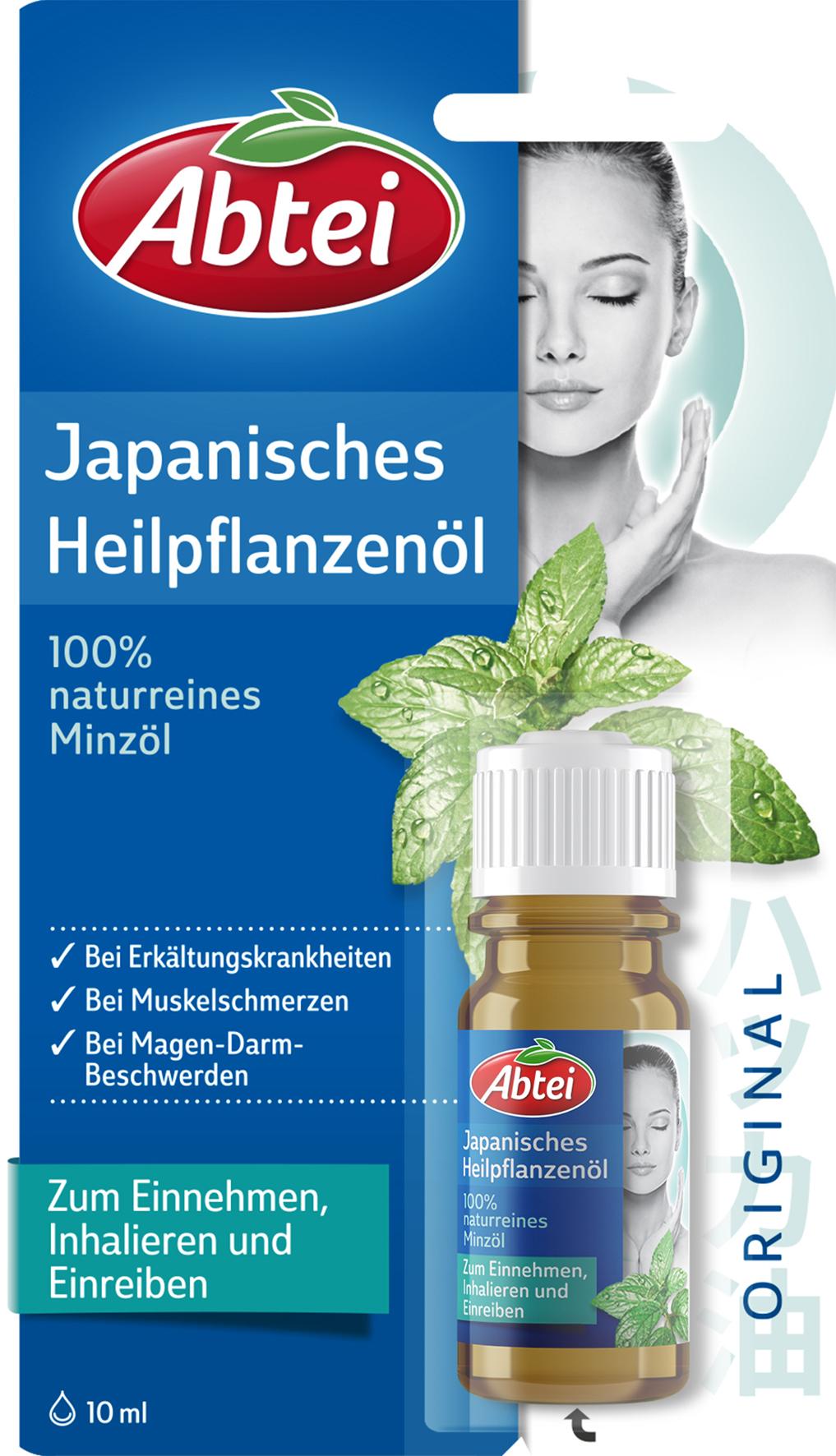 Abtei Japanisches Heilpflanzenöl (10 ml) 4026600476003