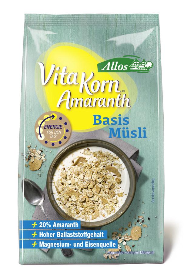 Vita Korn Amaranth Basis Müsli (375g)