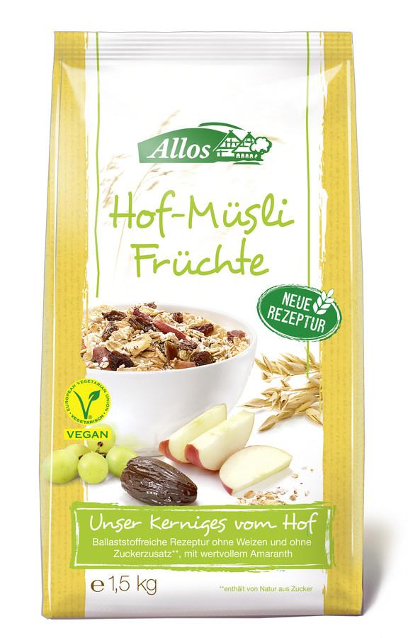 Hof-Müsli Früchte (1500g)
