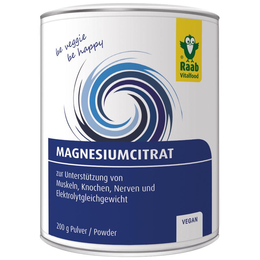 Magnesium-Citrat Pulver (200g)
