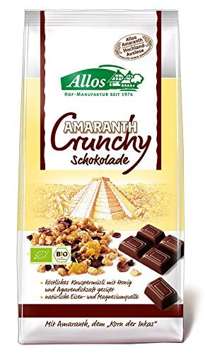 Amaranth Crunchy-Schokolade (400g)
