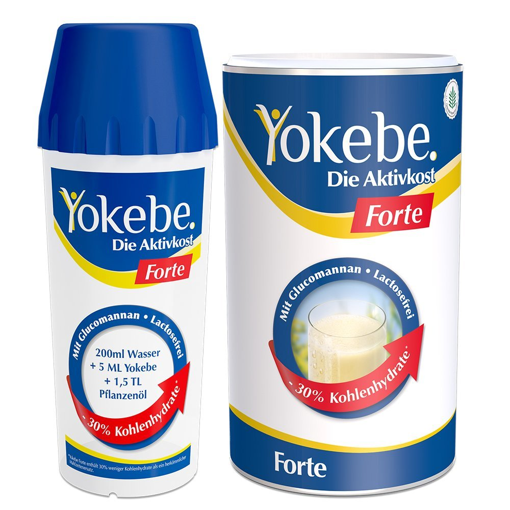 Forte Starterpaket mit Shaker (500g)