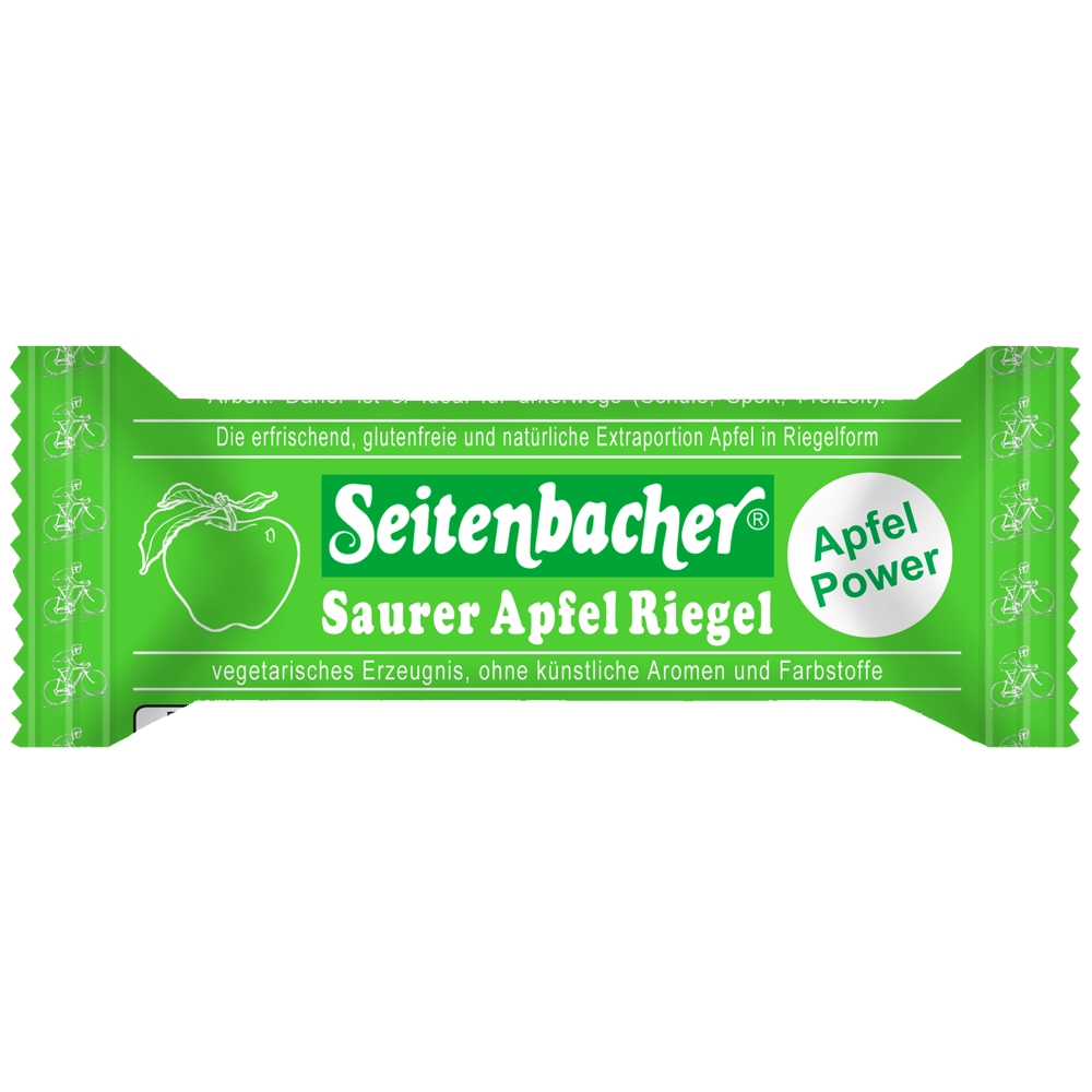 Saurer Apfel Riegel (50g)