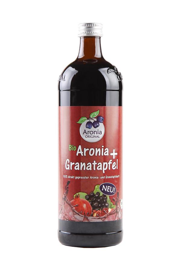 Aronia-Granatapfelsaft 100% Direktsaft (700ml)