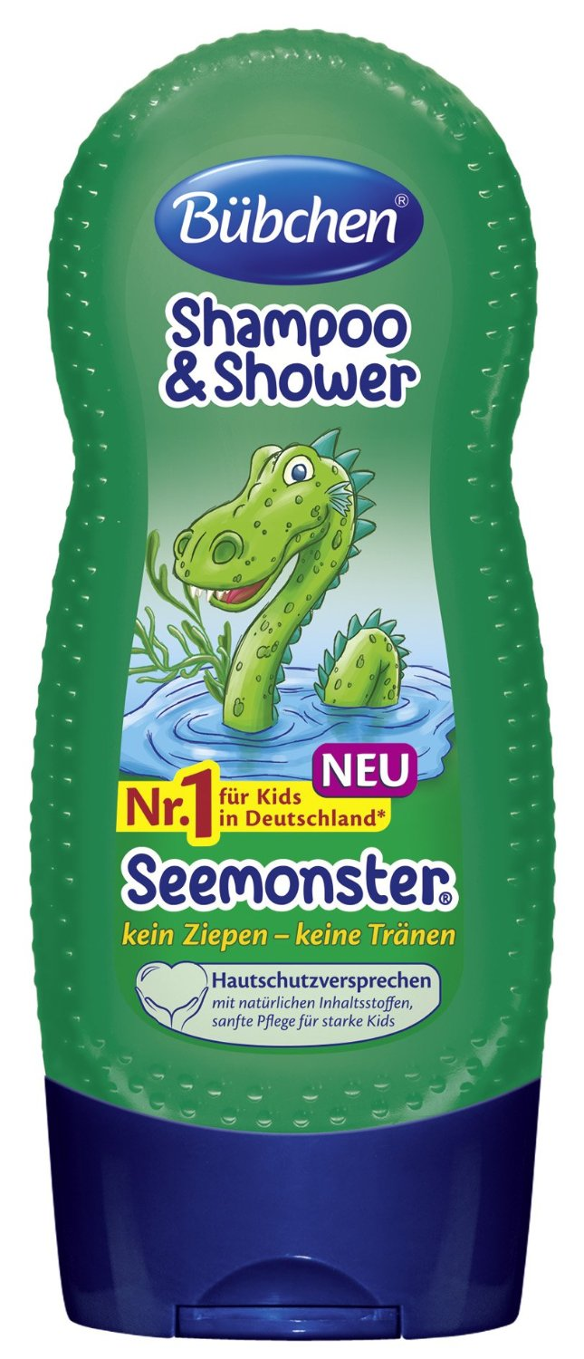 Kids Shampoo & Shower Seemonster (230ml)