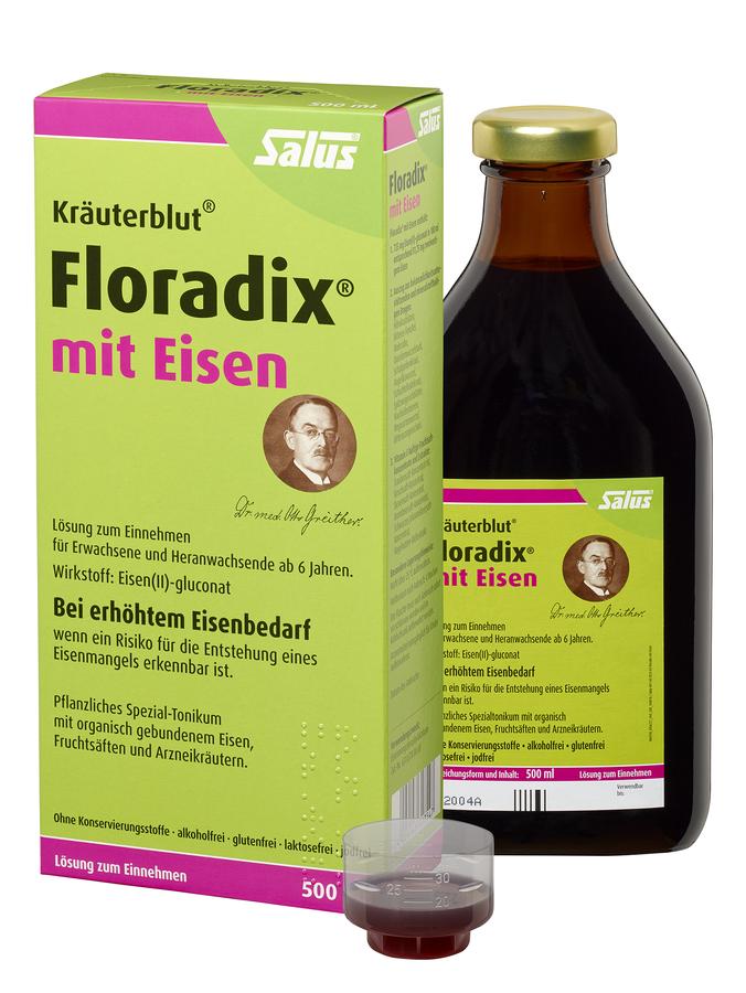Floradix® mit Eisen Tonikum (500ml)