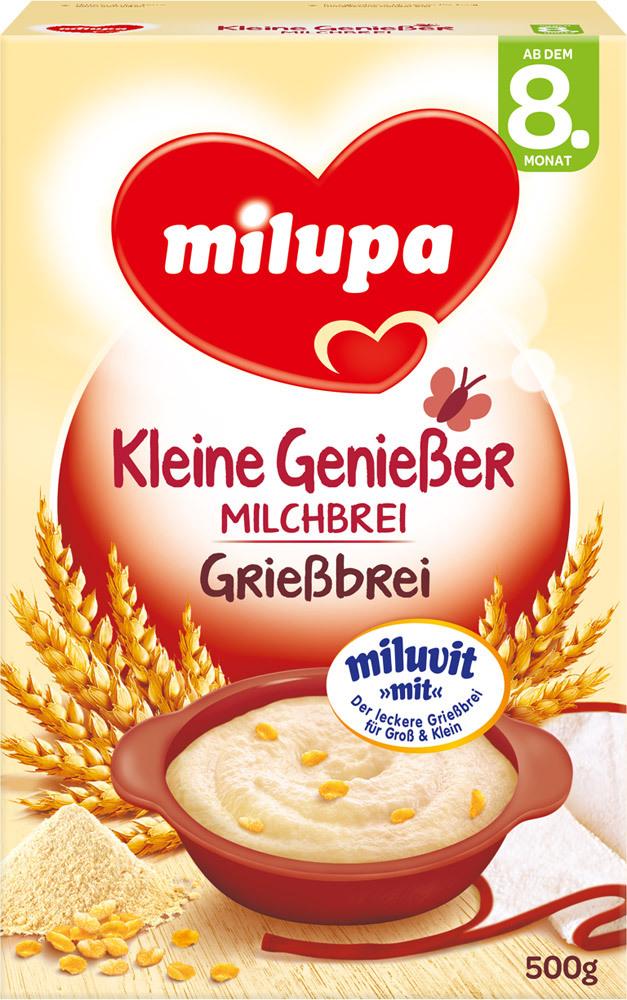 Grießbrei mit Milch 8M (500g)