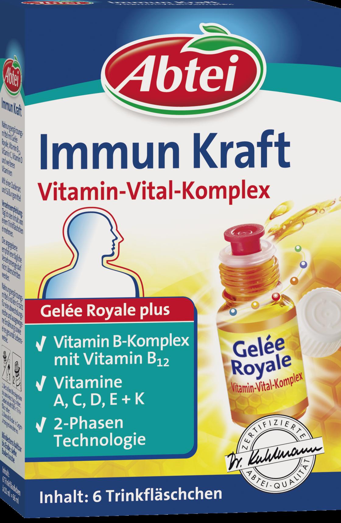 Abtei Immun Kraft Vitamin-Vital-Komplex (6x11ml Ampullen)