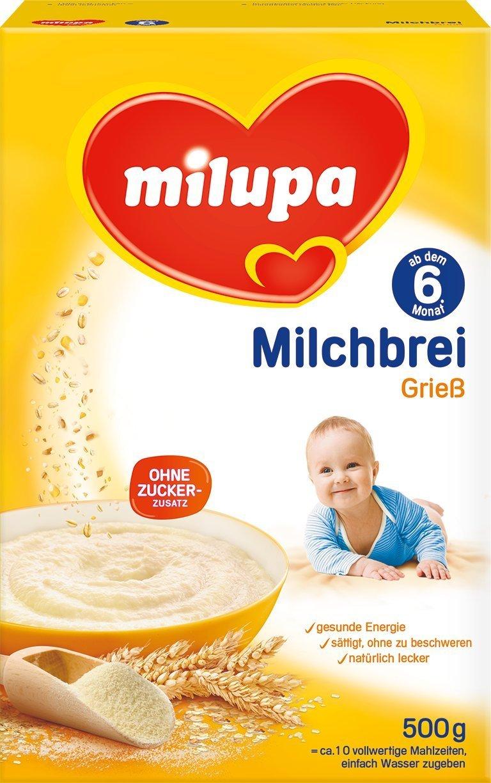 Milchbrei Grieß 6M (500g)